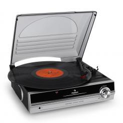 TBA-928 Plattenspieler integrierte Lautsprecher Line-Out Silber