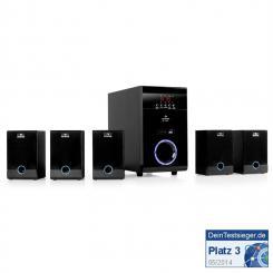 5.1-Lautsprecher-Set kabellos MP3-USB-SD Surround