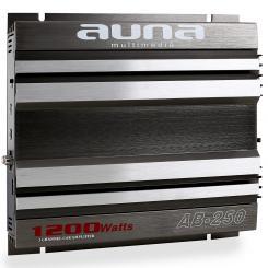 AB-250 Auto-Endstufe 2-Kanal-Verstärker brückbar 2 x 90W RMS, 1200W max. 2.0