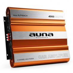 ALP404CH Auto-Endstufe Verstärker 640W RMS 4-Kanal MOSFET 4000W max. bronze
