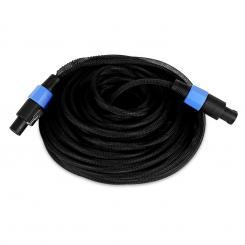 25 Meter 2 x 1,5 mm² PA Kabel, mit Knickschutz