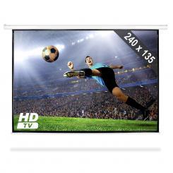 Beamer-Leinwand 240x135cm Heimkino Projektor HDTV 16:9