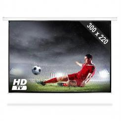 "PSAC-150 Beamer Leinwand 150"" 300x220cm Heimkino Projektor HDTV"
