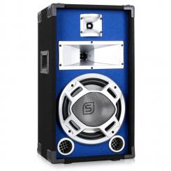 SKY-178 PA-Lautsprecher PA-Box 25cm (10'')-Subwoofer blau LED-Lichteffekt 400W