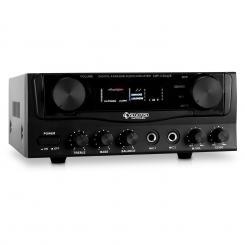 AV1 Amp-2 HiFi-Verstärker PA-Amplifier Karaoke 400W max.