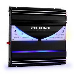 AMP-CH02 2-Kanal-Verstärker Auto-Endstufe 190W RMS 1400W max. 2.0