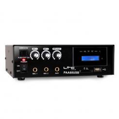 PAA60USB PA-Verstärker USB-MP3 Mikrofon 12V