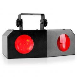 Nomia LED-Lichteffekt RGB-Dual-Moonflower Disko