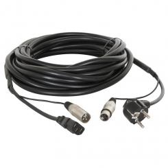 SKY-176 Strom-XLR-Signal-Kabel 15 Meter