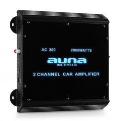 W2-AC200 2-Kanal Auto-Endstufe Car Verstärker 2000W Acryl 2.0