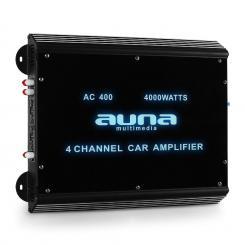 W2-AC400 4-Kanal Auto-Endstufe Car Verstärker 360W RMS 4000W max. Acryl 4.0