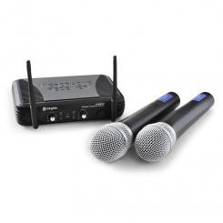 STWM722 UHF-Funkmikrofon-Set kabellos 2xMic