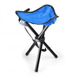 KT-Trestle mobiler Campingstuhl Angelsitz blau schwarz 500g Blau