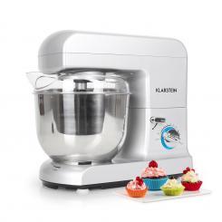 Gracia Argentea Küchenmaschine 1000W 1,3 PS grau Grau
