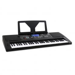 Sub61B USB-MIDI-Keyboard 61 Tasten LINE-Out Aufnahme-Funktion schwarz Schwarz