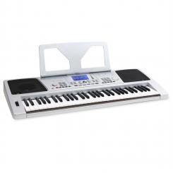 Sub61B USB-MIDI-Keyboard 61 Tasten LINE-Out Aufnahme-Funktion silber silver