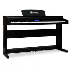 Subi88P2 E-Piano 88-Tasten Digital Piano MIDI Klinke 2 Pedale Schwarz
