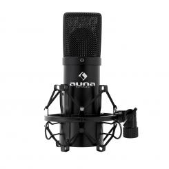 MIC-900B USB Kondensator Mikrofon schwarz Niere Studio Schwarz | Schwarz