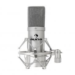 MIC-900S USB Kondensator Mikrofon silber Niere Studio silver | Silber