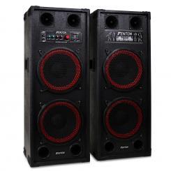 """SPB-210 PA Aktiv Boxen Set 2x 25cm (10"""")"""