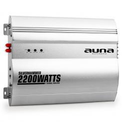Silverhammer 2-Kanal Auto Endstufe 2200W 2.0