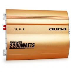 Goldhammer 2-Kanal Auto Endstufe 2200W 2.0