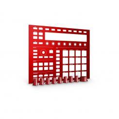 MASCHINE CUSTOM KIT Faceplates Dragon Red