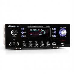 AV-120FM HiFi PA-Verstärker Karaoke USB MP3 Radio UKW-Radio-Tuner