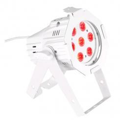 Studio Mini PAR Q 8WWH LED-Strahler DMX - 7x 8W LEDs RGBW weiß