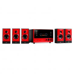 V51 aktives 5.1 Surround-Audiosystem 70W RMS USB SD AUX UKW FB