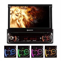 MVD-240 Autoradio DVD CD MP3 USB SD AUX 7'' Touchscreen Bluetooth MVD-240