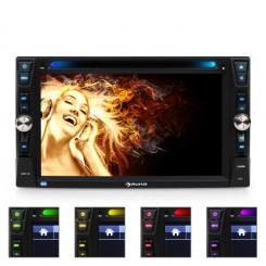 MVD-481 Moniceiver DVD CD MP3 USB SD HD 6,2'' Touchscreen Bluetooth