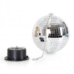 Mirror Ball XL LED-Discokugel 20cm RGBY