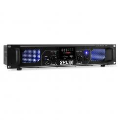SPL 300MP3 PA Verstärker MP3 USB SD 300W Schwarz | MP3-Player | 2x 150 W (4 Ohm)