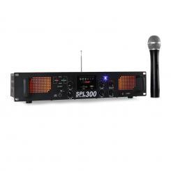 SPL 300VHF PA Verstärker USB SD MP3 Funk 300W
