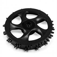 Hinterrad mit Spikes für Rasenmähroboter Outdoor-Profil Ersatzrad