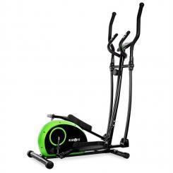 ELLIFIT BASIC 10 Heimtrainer Crosstrainer 4 kg Pulsmesser grün / schwarz Grün