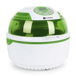 VitAir Heißluftfritteuse grün 1400W Grillen Backen 9 Liter Grün