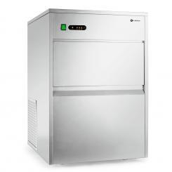Powericer XXXL Industrie Eiswürfelmaschine 380W 50kg/Tag Edelstahl XXXL
