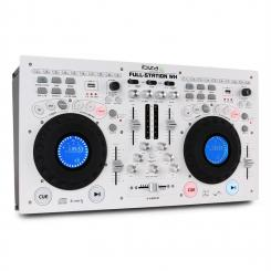 Full-Station DJ Set Doppel CD-Player Scratch Mixer USB SD MP3