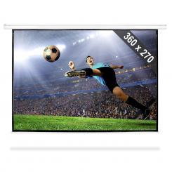 Beamer Leinwand 360x270cm Heimkino Projektor HDTV