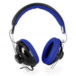 VHP-YO300BL Kopfhörer Leder Blau