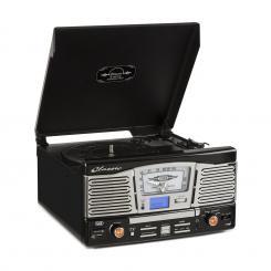 TT 1065 Retro-Stereoanlage mit integrierten Lautsprechern CD USB SD MP3