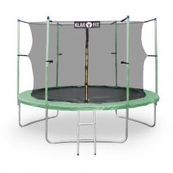 Rocketstar XXL Gartentrampolin mit Sicherheitsnetz & Leiter 305 cm Grün Grün | 305 cm