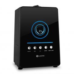 Monaco Digitaler Ultraschall-Luftbefeuchter schwarz Schwarz