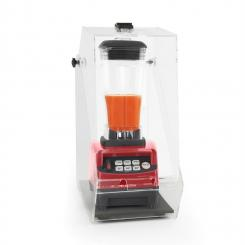 Herakles 5G Standmixer Rot mit Cover 1500W 2,0 PS 2 Liter BPA-frei Rot