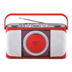 Boomtown-Girl portable CD Player Radio vollmobil