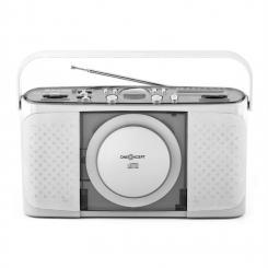 Boomtown-Garden portable CD-Player MP3 USB Radio vollmobil