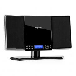 V14 Stereoanlage UKW/MW CD MP3 AUX schwarz Schwarz
