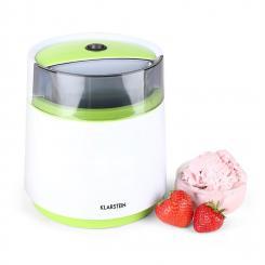 Bacio Verde Eiscrememaschine 0,8 Liter weiß-grün Grün